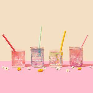🌵 3/$25 Silicone straws